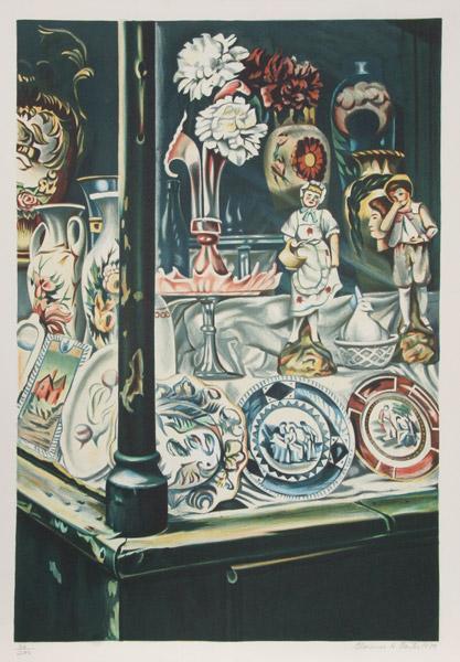 Antique Shop, 1979 - Clarence Holbrook Carter