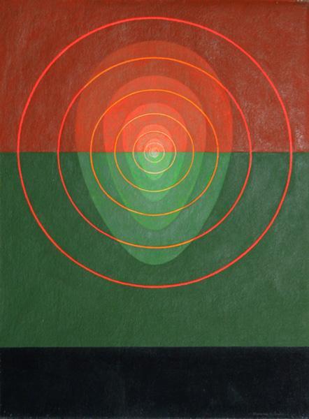 Mandala No. 2, 1968 - Кларенс Холбрук Картер