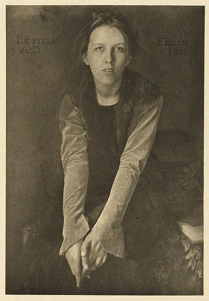 Letitia Felix, 1901 - Clarence Hudson White