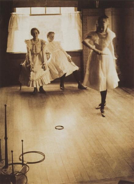 The Ring Toss, 1899 - Clarence White