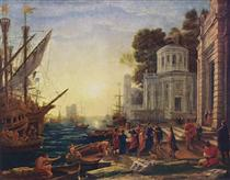 cleopatra hair style claude lorrain 88 paintings wikiart org 1560
