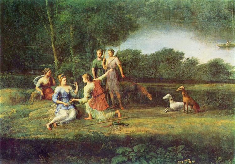Egeria weeps over Numa, 1669 - Claude Lorrain
