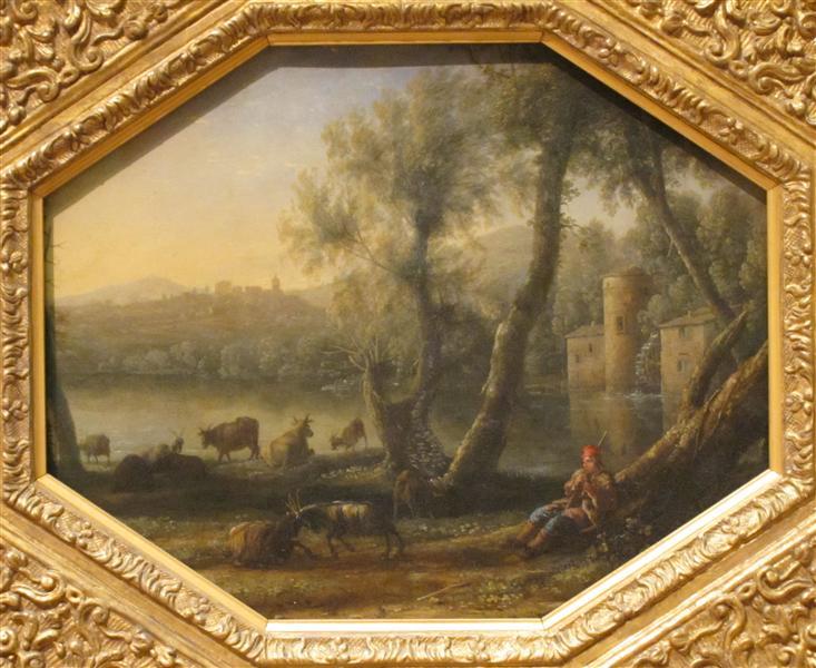 Pastoral Landscape, c.1636 - Claude Lorrain