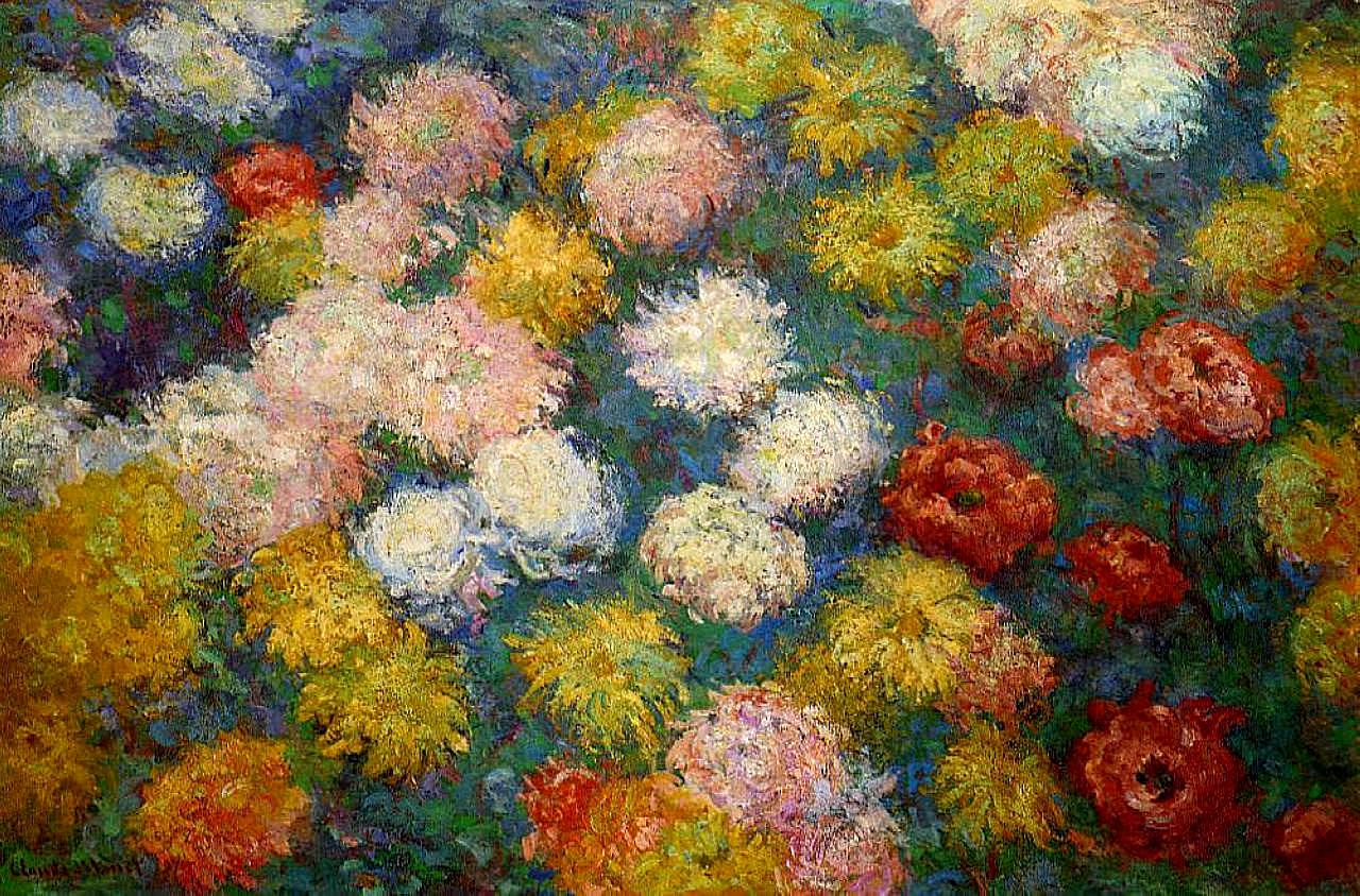 impressionism monet flowers - photo #33