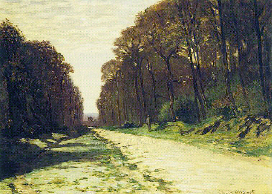 Road in a Forest Fontainebleau, 1864