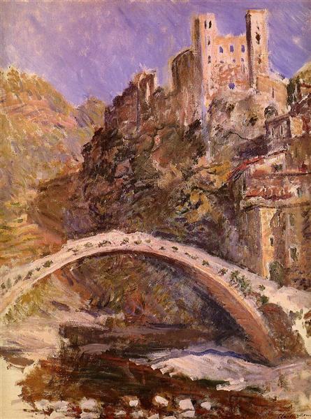 The Castle of Dolceacqua, 1884 - Claude Monet