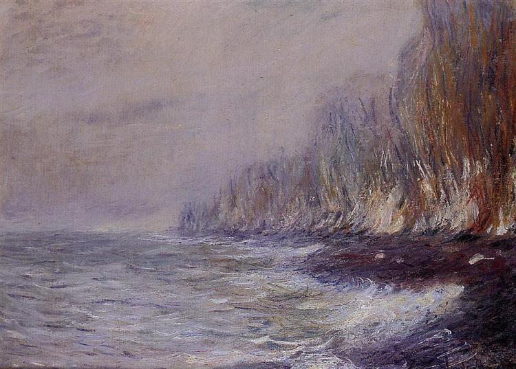 The Effect of Fog near Dieppe - Monet Claude