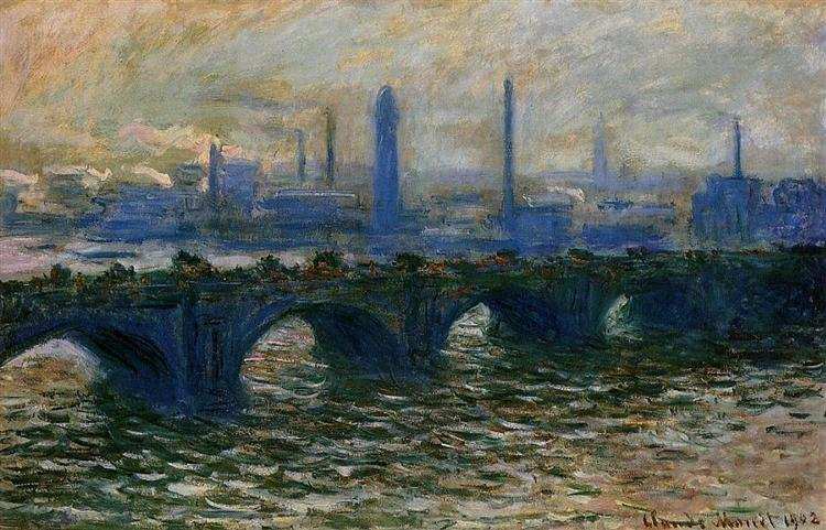Waterloo Bridge, 1902 - Claude Monet