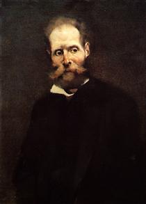 Portrait of Antero de Quintal - Columbano Bordalo Pinheiro