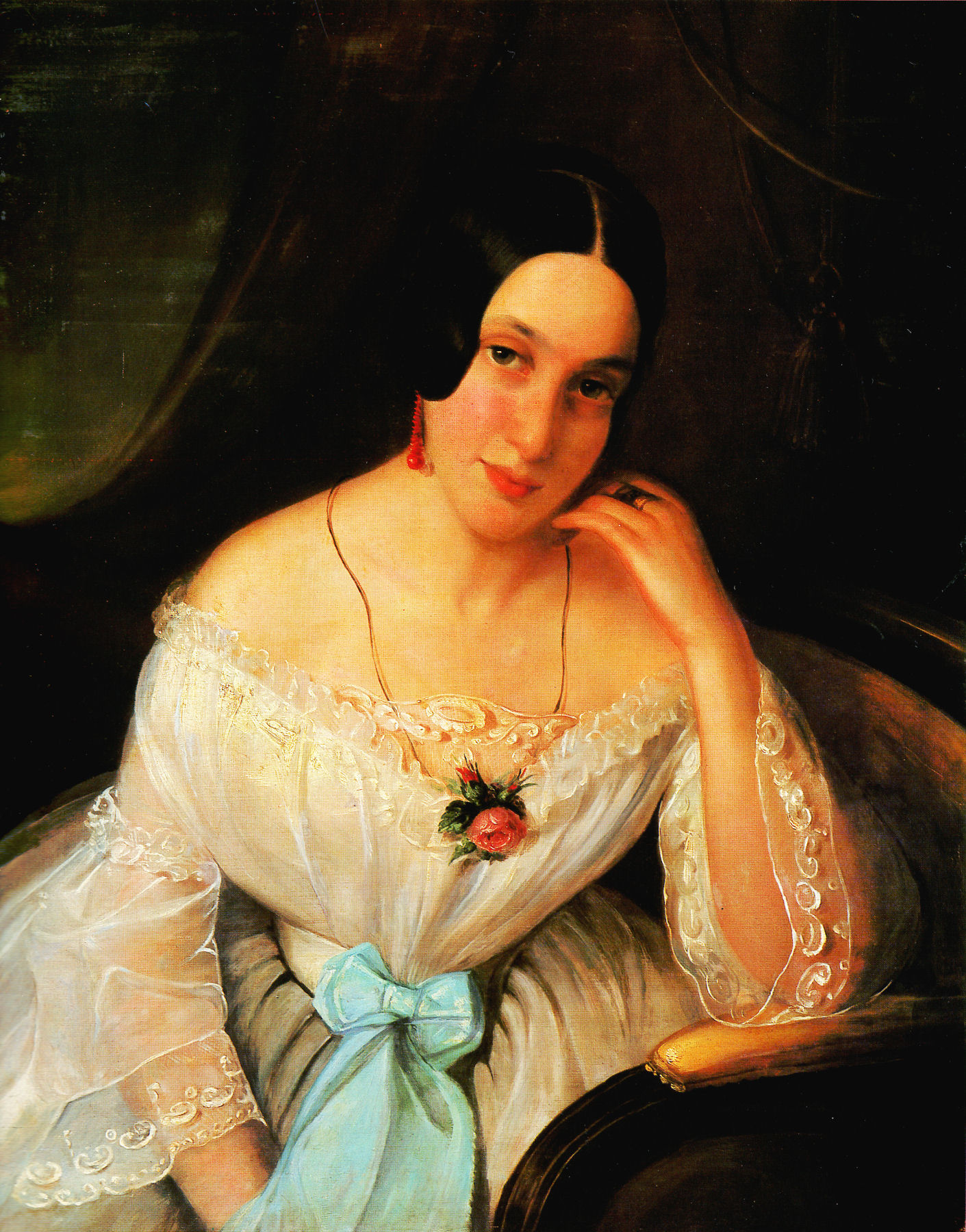 Portrait of a woman, 1844