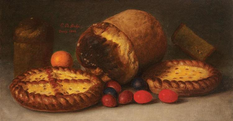 Easter Food, 1916 - Constantin Stahi