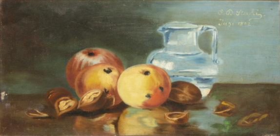 Still Life With Fruit, 1902 - Constantin Stahi