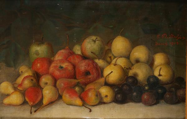 Still Life With Fruit, 1915 - Constantin Stahi
