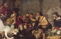 Diogenes searches for a man - Корнелис де Вос