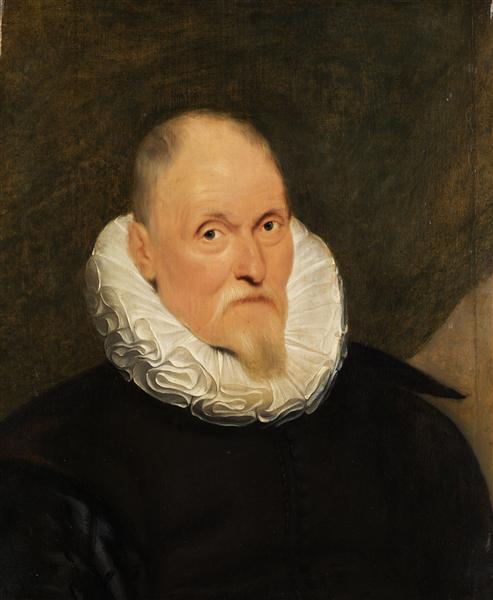 Portrait of a Dutch master - Cornelis de Vos