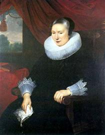 Portrait of a lady - Корнелис де Вос