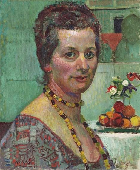 Bildnis Frau Amiet, 1925