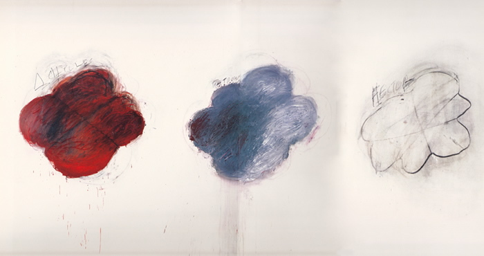 Fifty Days at Iliam. Shades of Achilles, Patroclus, and Hector, 1978 - Cy Twombly
