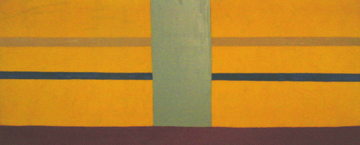 Yellow Bumper, 1970 - Dan Christensen