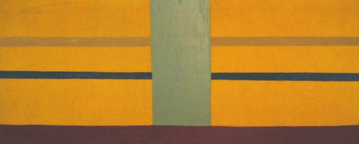 Yellow Bumper, 1970 - Дэн Кристенсен