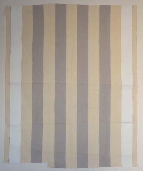 peinture acrylique blanche sur tissu ray blanc et gris clair daniel buren. Black Bedroom Furniture Sets. Home Design Ideas