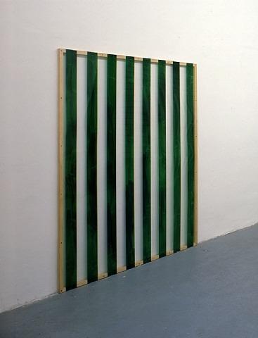 Reflets n°33 - Peinture sur plexiglas 1/2, travail situé, 1987 - Даниель Бюрен