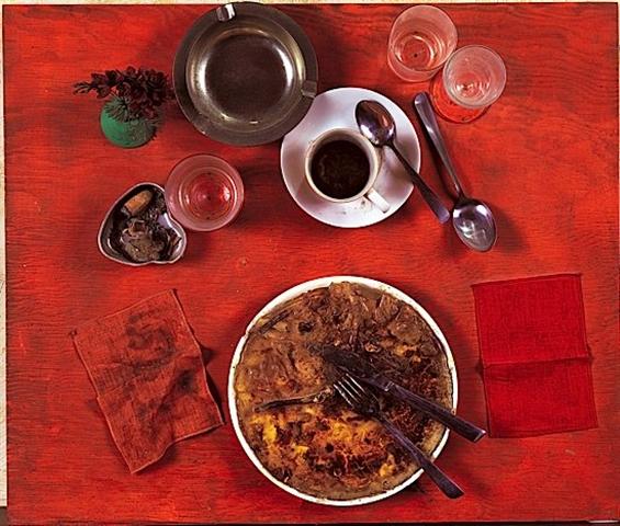 Eaten by Marcel Duchamp, 1964 - Daniel Spoerri