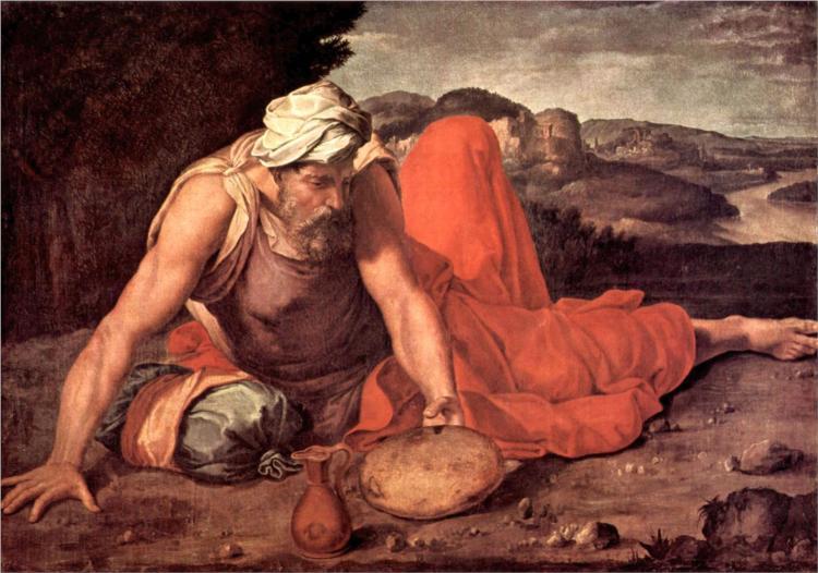The Prophet Elias, 1560 - Daniele da Volterra