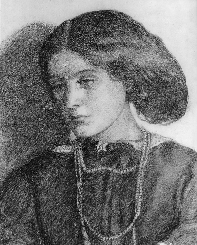 Mrs. Burne Jones, 1860