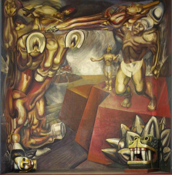 Mural, 1944 - David Alfaro Siqueiros