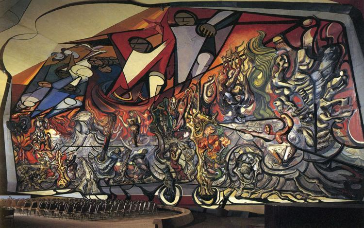 The March of Humanity, 1971 - David Alfaro Siqueiros