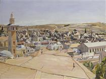 Jerusalem, Looking to Mount Scopus - David Bomberg