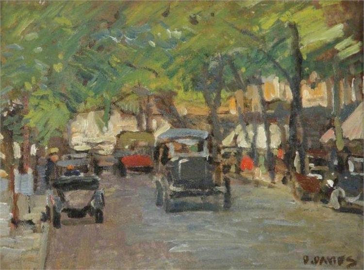 Cheltenham Promenade - David Davies
