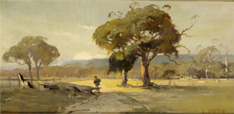 Ercildoune, near Ballarat, 1888 - David Davies