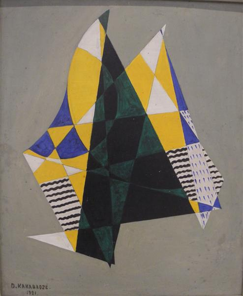 Sailboats, 1921 - David Kakabadze
