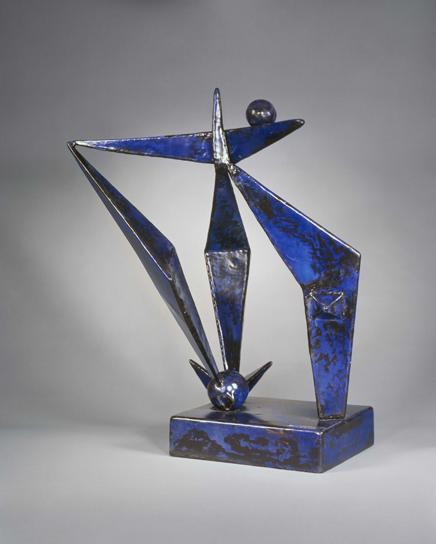 Blue construction, 1938 - David Smith