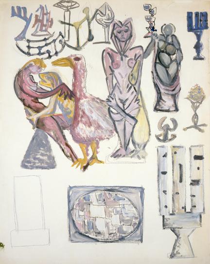Untitled, 1946 - Дэвид Смит