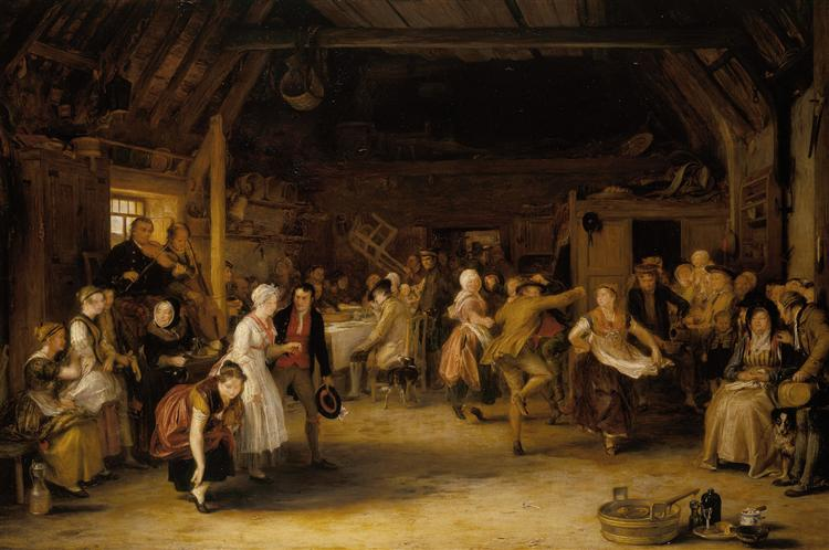 The Penny Wedding, 1818 - David Wilkie