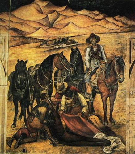 The Liberation ofThe Peon - Diego Rivera