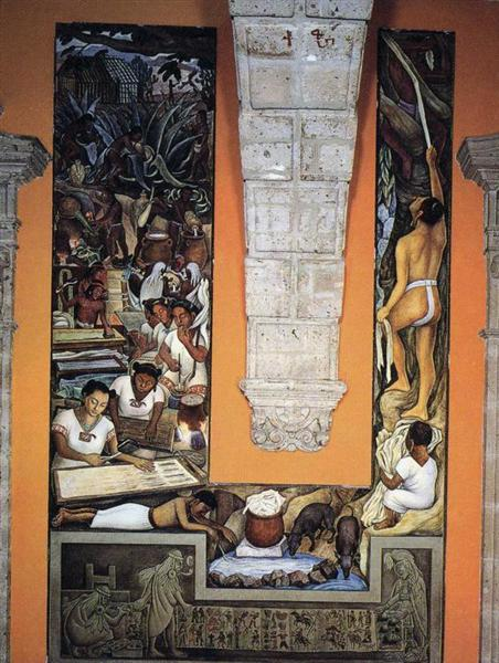 The Papermakers, 1950 - Diego Rivera