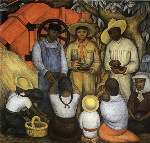 Triumph of the Revolution - Diego Rivera
