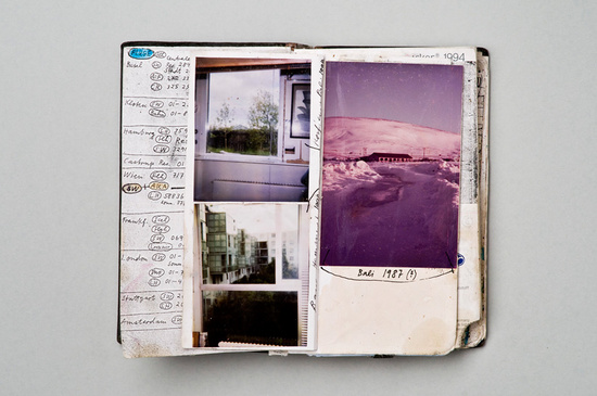 1994 Notebook & Diary (detail), 1994 - Dieter Roth