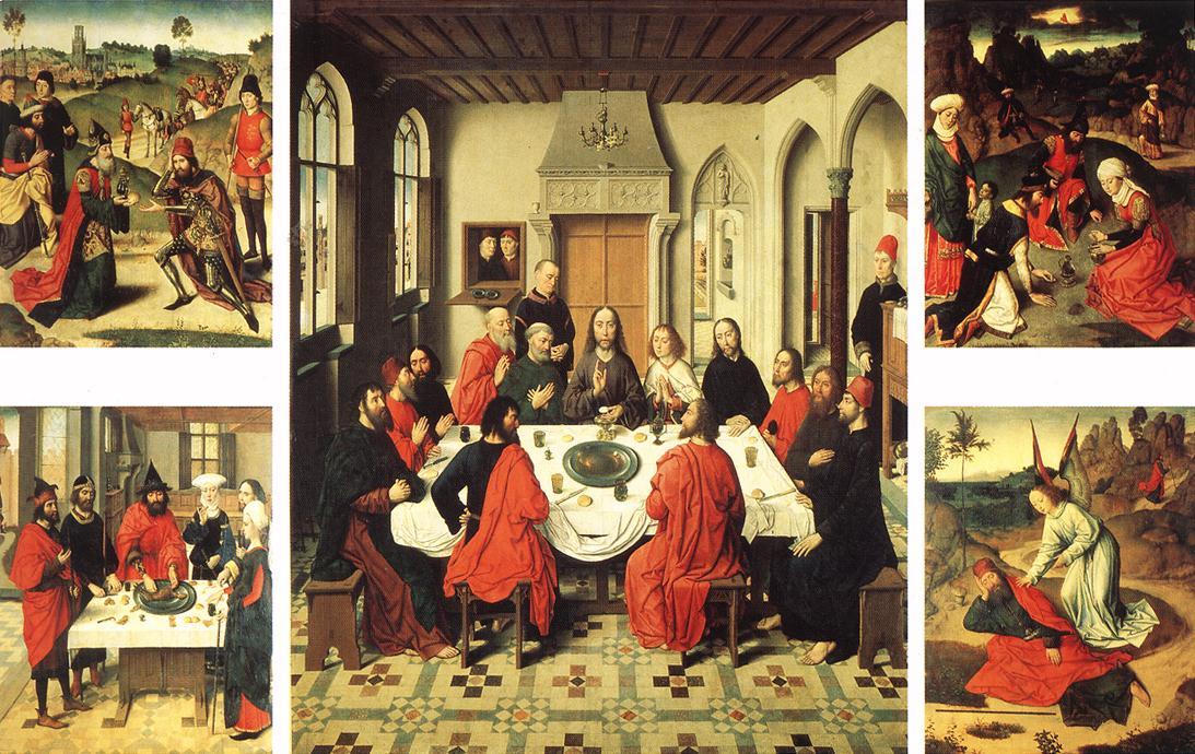 Altarpiece of the Holy Sacrament, 1466