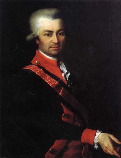 Mikhail Sergeevich Potemkin, c.1787 - Dmitry Levitzky