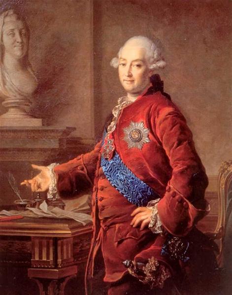 Portrait of Alexander Golytsyn, 1772 - Dmitry Levitzky