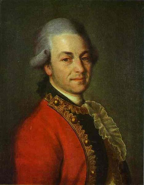 Portrait of an Unknown Man, c.1775 - Dmitri Levitski