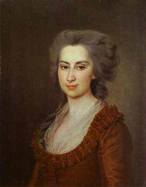 Portrait of Countess N. F. Vorontsova - Dmitry Levitzky