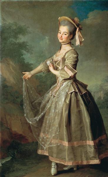 Portrait of Ekaterina Nelidova, 1773 - Dmitri Levitski