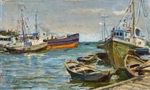 Batumi port - Dmitry Nalbandyan
