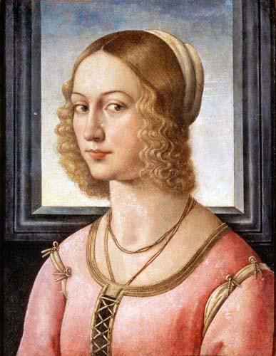 Portrait of Giovanna Tornabuoni, c.1485 - c.1488 - Domenico Ghirlandaio